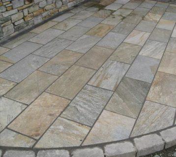 Sawn Cut Quartzite Stone